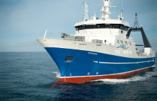 The research vessel Tangaroa deployed devices capable of recording conditions all the way to the bottom, then surfacing to relay the data to a satellite. (Credit: Niwa)