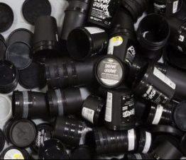 LUSH Recycled Black Pots