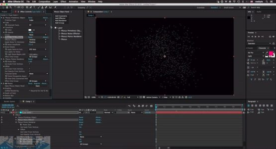 Rowbyte Plexus for Adobe After Effects for Mac OS X Direct Link Download-OceanofDMG.com