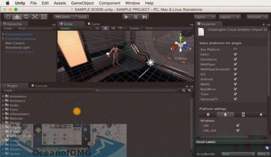 Unity Pro 2018 for Mac Latest Version Download-OceanofDMG.com