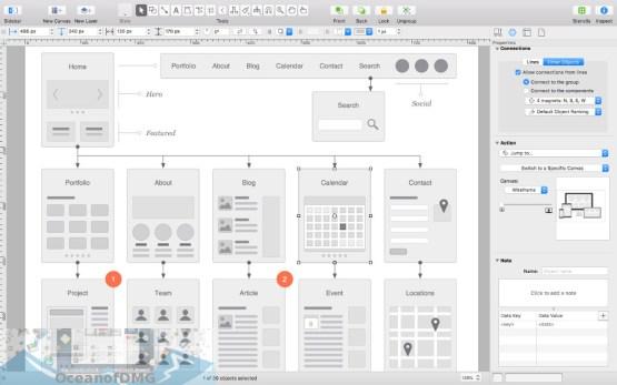 OmniGraffle Pro for Mac Offline Installer Download-OceanofDMG.com