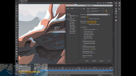 Adobe Animate 2020 for Mac Offline Installer Download-OceanofDMG.com