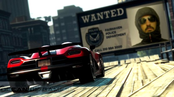 Need For Speed Most Wanted Features