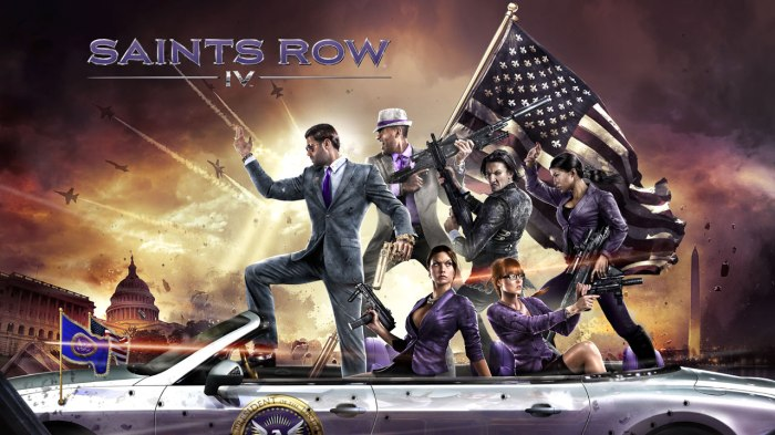 Saints Row IV Free Download
