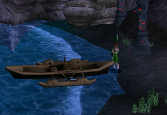 The Sims 2 Castaway features