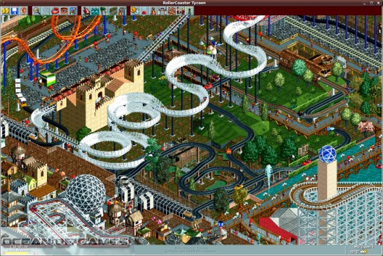 Roller Coaster Tycoon Setup Free Download