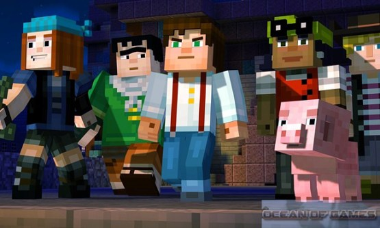 Minecraft Story Mode Episode 3 Features
