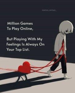 Sad love photo