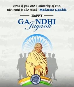 quotes for Gandhi Jayanti 2020