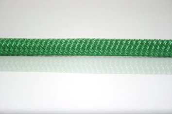 Ocean Rope Braid on Braid Green