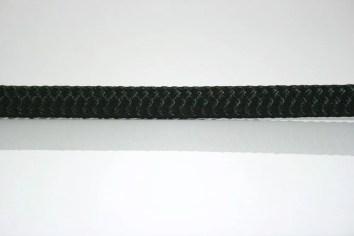 Ocean Rope Braid on Braid Black