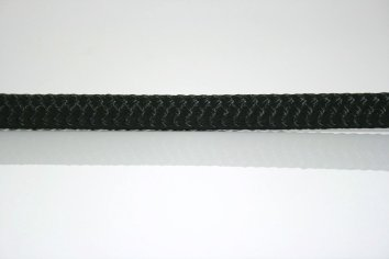 Ocean Rope Braid on Braid Black
