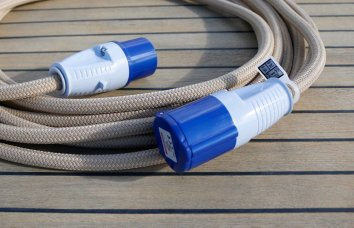 Covered Power Cable Beige