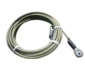 Karver KT Furling cable finished