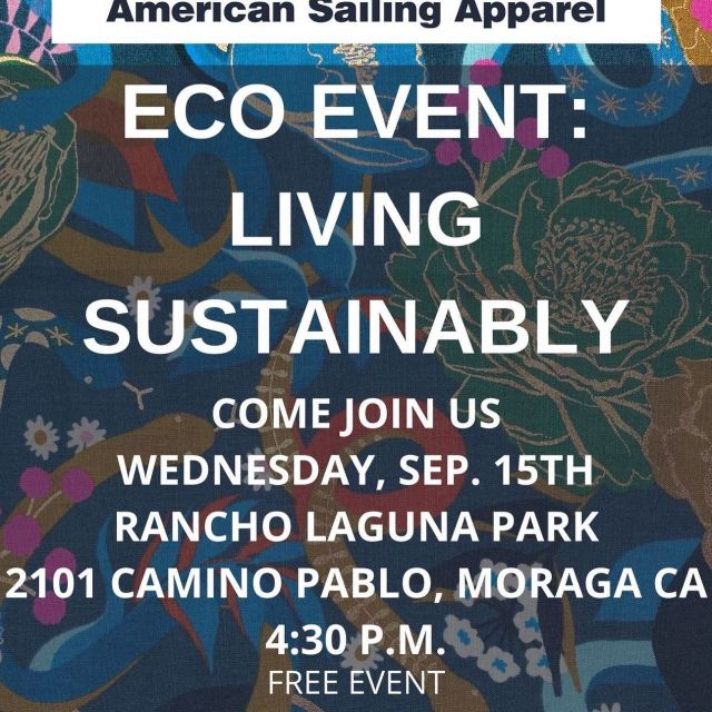 Please join us! This is an event put on by my amazing interns! It's FREE! Come and bring the kids and your dog 🐕. Tips and tricks for li i g sustainably.