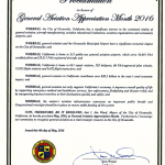 Click on image to enlarge proclamation.