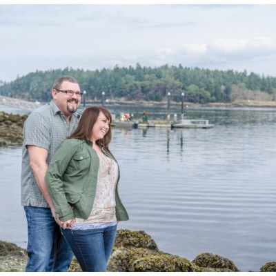 Coral & Richards Nanaimo Seawall Engagement Session ♥ Nanaimo Engagement Photographer