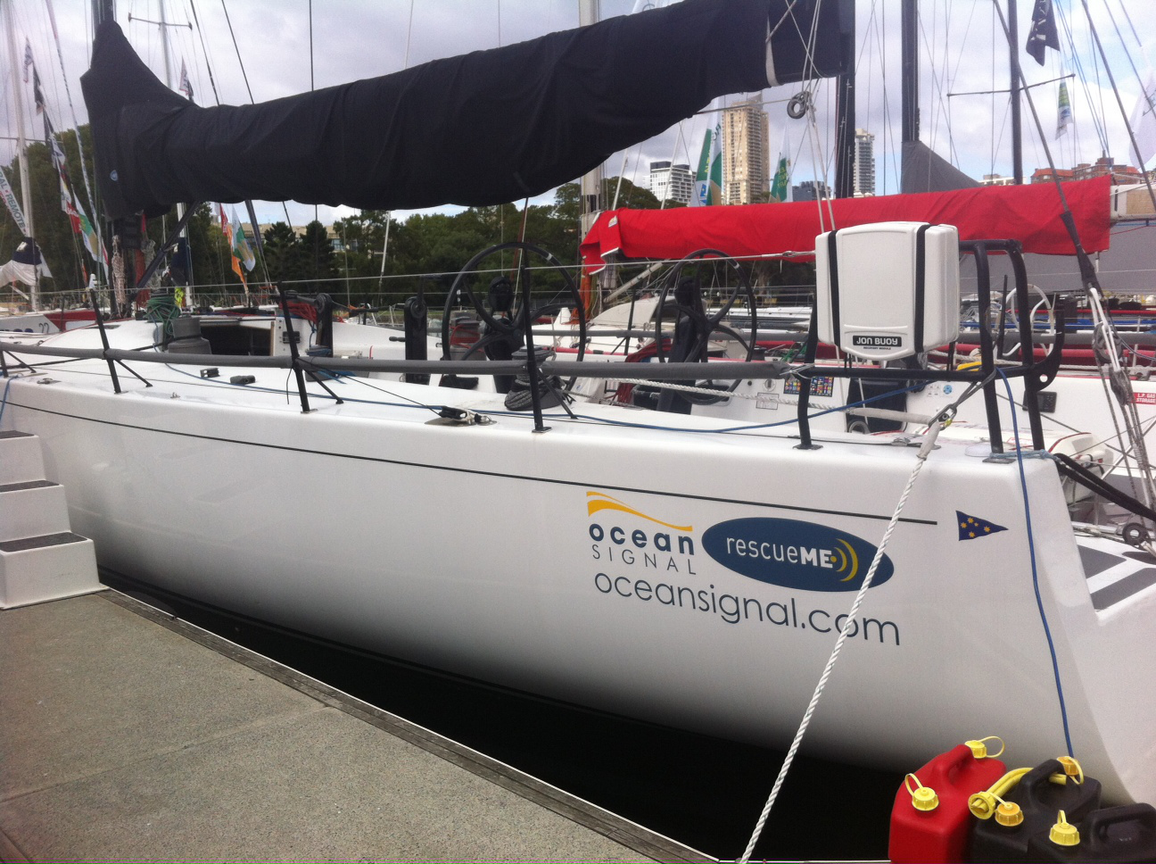 TRITON Crew Rely On Ocean Signal Man Overboard Devices In