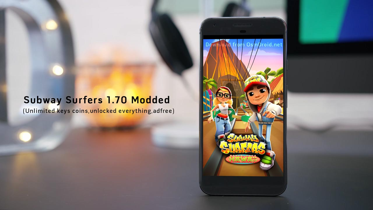 Subway Surfers 1 70 0 modded apk Hawaii Unlocked | Ocean of apk