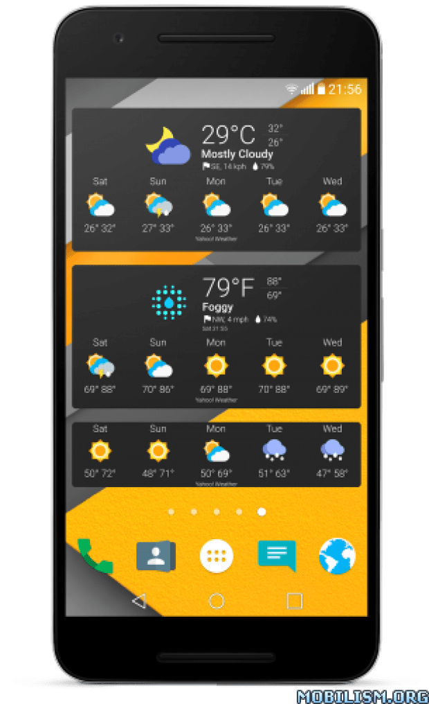 Chronus Home & Lock Widget v8.3 BETA3 Pro Download