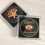 Tito's Handmade Vodka Bar Gift Coin w/Case
