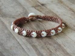 Ocean Tuff Jewelry - Hawaiian Puka Shell Bracelet