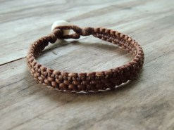 Ocean Tuff Jewelry - Chunky Double Bracelet - Natural