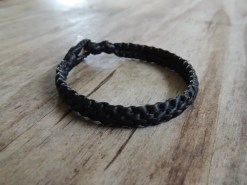 Ocean Tuff Jewelry - Chunky Double Bracelet - Black