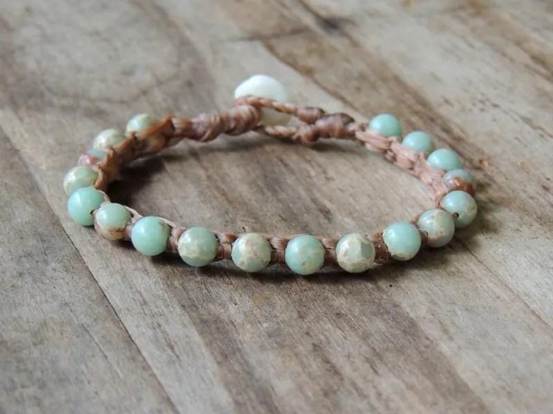 Ocean Tuff Jewelry - Impression Jasper Gemstone Bracelet