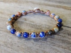 Ocean Tuff Jewelry - Sodalite Gemstone Bracelet