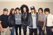 Jonas Brothers Hang With Tokio Hotel Oceanup