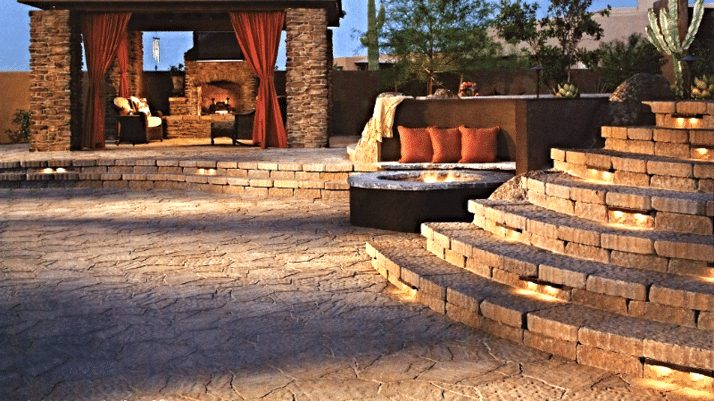 pavers for patios Oceanview Concrete