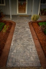 appian cobblestone stamped decorative concrete