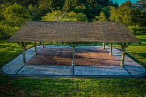 hydrangea ranch dance floor