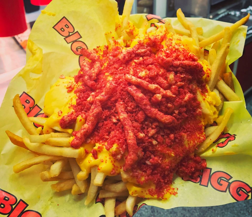Flamin Hot Cheetos Cheese Fries  OC Fair  Event Center
