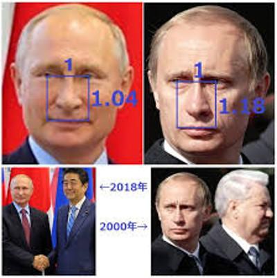 偽物 プーチン