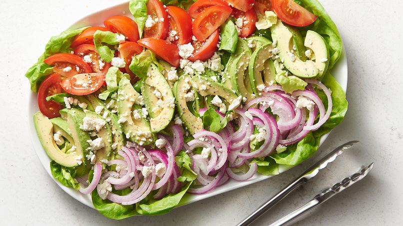 30 recetas de ensaladas fáciles, deliciosas y saludables.