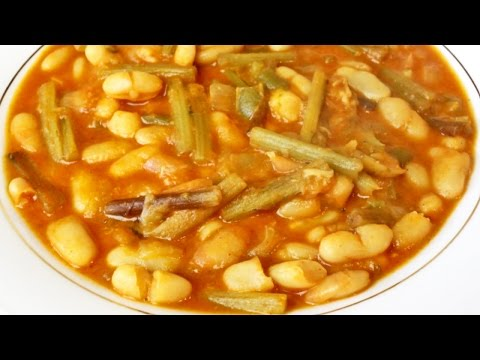 Potaje de tagarninas - Potaje tradicional andaluz con verduras