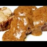 Receta de solomillo en salsa de arándanos