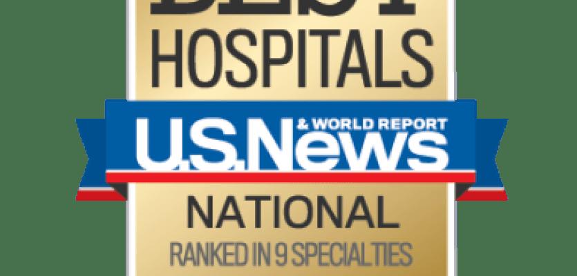 Ochsner Nationally Ranked In Nine Specialties And Named #1
