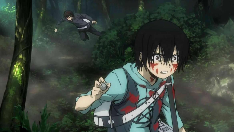 imagen: anime Btooom!