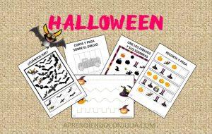 Cuadernillo de actividades para Halloween