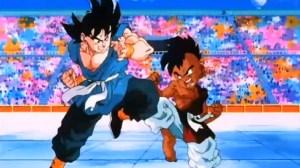 Goku vs Uub 300x168 - Orden cronológico para ver todas las series y películas de Dragon Ball