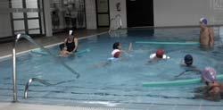 Natación para niños en el Parque Deportivo Puerto de Arrecife, Arrecife de Lanzarote