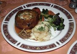 Cordero relleno, especialidad de Chef Nizar, restaurantes en Arrecife, Lanzarote