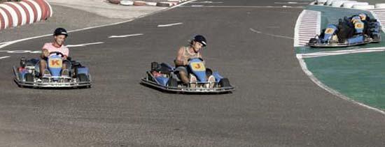 Sesión de Karting en Lanzarote