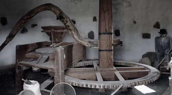 The press of El Patio Museum, ethnographic center, Tiagua, Lanzarote