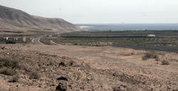 Tuneras de Mala, Roque del Este, Barranco de Tenegüime, Senderismo en Lanzarote