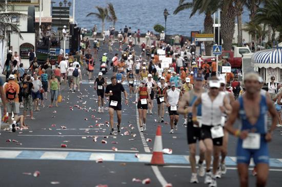 Una maratón para concluir el Ironman Lanzarote