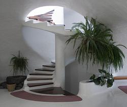 Interior del Mirador del Río, Yé, Lanzarote